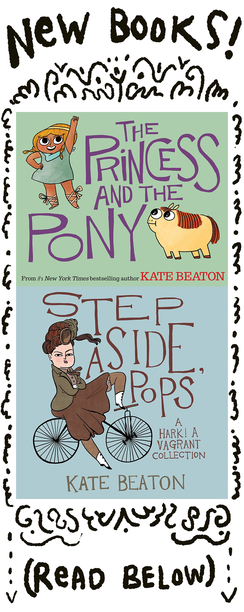 NEW Hark! A Vagrant by Kate Beaton (2011, Hardcover)